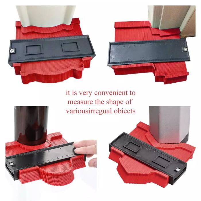 Onnfang Copy Gauge Contour Gauge Duplicator Contour Scale Template Wood Marking Tools Ti